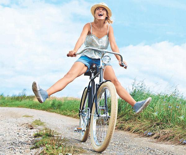 Блог компании eltreco: велосипед хороший способ похудеть.