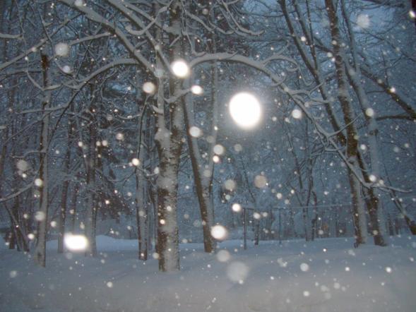 Пятницу в москве слабый морозец и снег