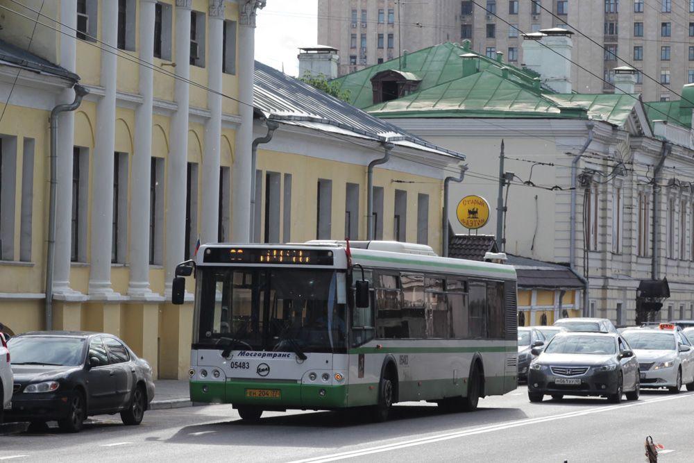Маршрут автобуса № 671 (Москва