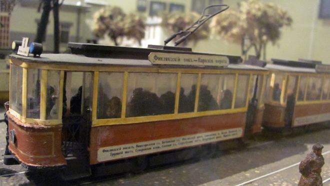 Праздник московского трамвая 16 апреля