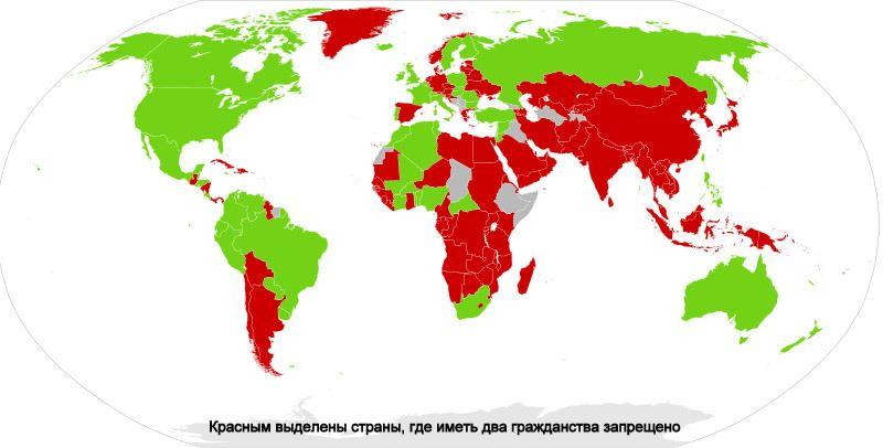 Можно ли иметь двойное гражданство в России в 2019 году